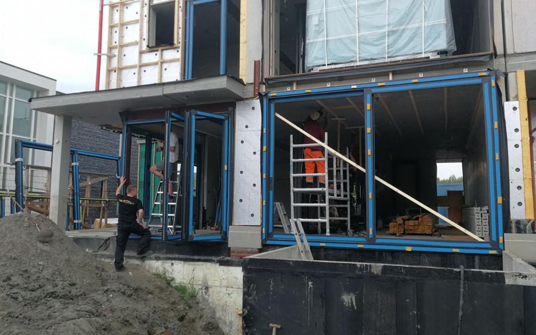 Aliplast aluminium kozijnen, vouwdeuren en schuifpuien plaatsen Den Haag