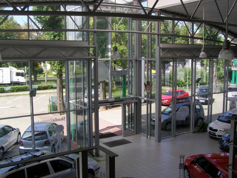 Skoda auto dealer