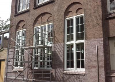Oud school gebouw Den Haag , Nl profiel aangepast